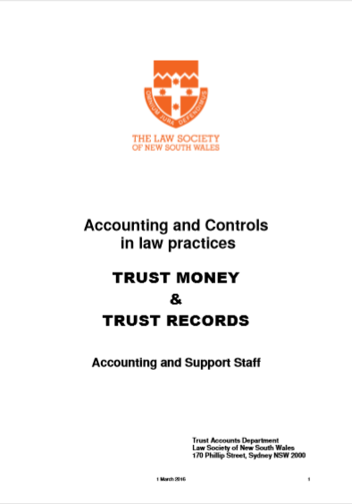 ACCOUNTING AND CONTROLS IN LAW PRACTICES