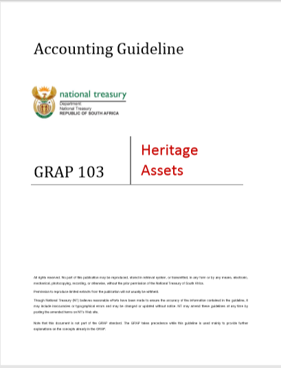 Cover of ACCOUNTING GUIDELINE