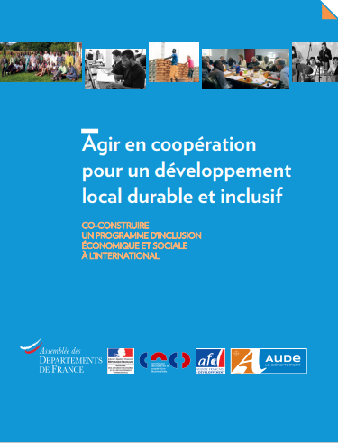 Cover of AGIR EN COOPERATION POUR UN DEVELOPPEMENT LOCAL DURABLE