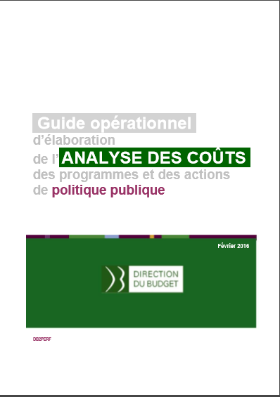 Cover of ANALYSE DES COUTS