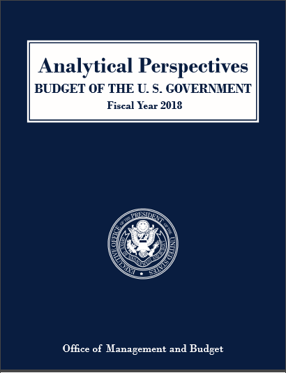 Cover of ANALYTICAL PERSPECTIVES BUDGET OF THE US GOVERNMENT