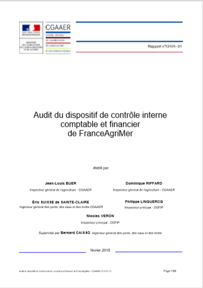 AUDIT DU DISPOSITIF DU CONTROLE INTERNE ET FINANCI...