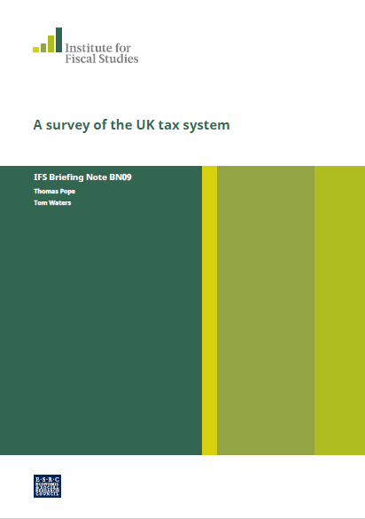 A SURVEY OF THE UK TAXES SYSTEMS