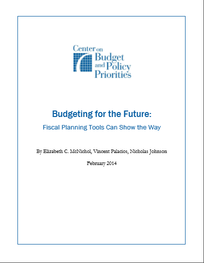 Cover of BUDGETING FOR THE FUTURE