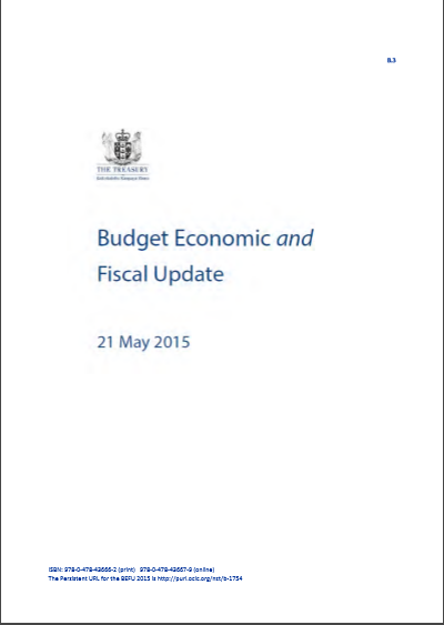 Cover of BUDGET 2017 ECONOMIC AND FISCAL OUTLOOK