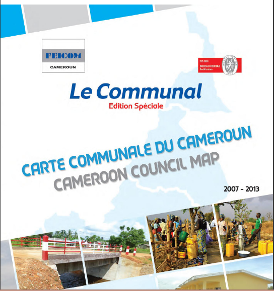 Cover of CARTE COMMUNALE CAMEROUN
