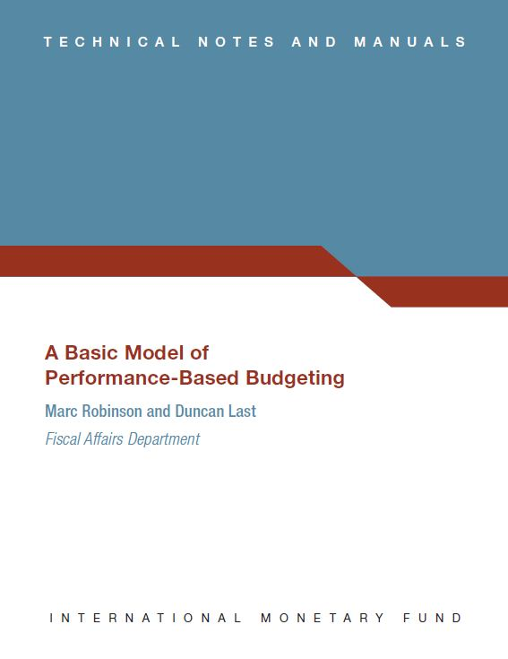 Cover of A Basic Model of Performance-Based Budgeting