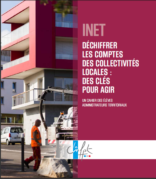 Cover of DECHIFFRER LES COMPTES DES COLLECTIVITES LOCALES