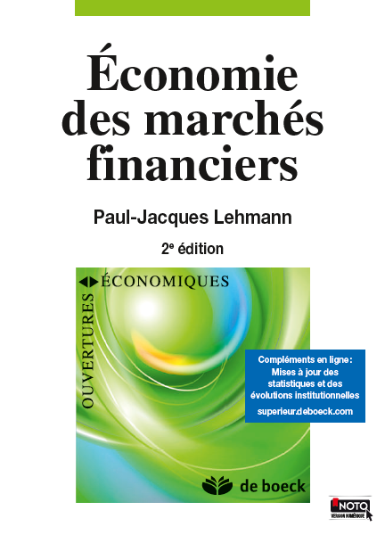 ECONOMIE DES MARCHES FINANCIERS