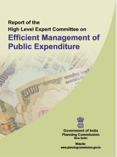 Cover of EFFICIENT MANAGEMENT OF PUBLIC EXPENDITURE