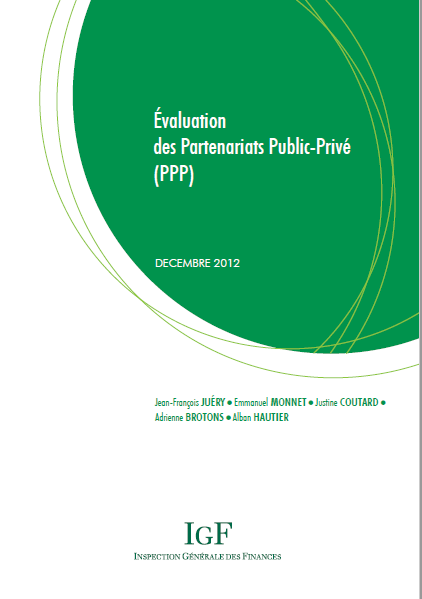 EVALUATION DES PARTENARIATS PUBLIC PRIVE