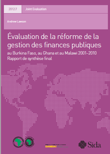 EVALUATION DE LA REFORME DE LA GESTION DES FINANCE...