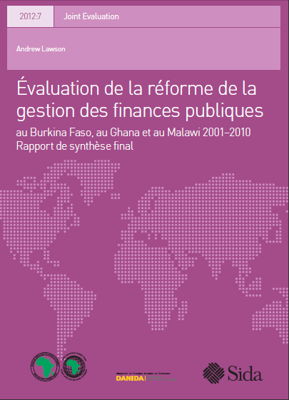 Cover of EVALUATION DE LA REFORME DE LA GESTION DES FP