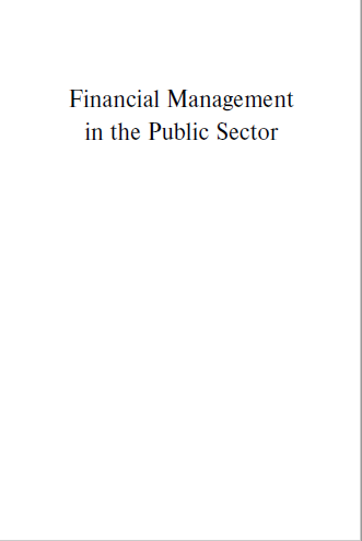 FINANCIAL MANAGEMENT IN PUBLIC SECTOR
