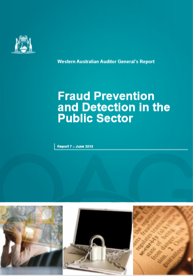 FRAUD PREVENTION AND DETECTION IN THE PUBLIC SECTO...