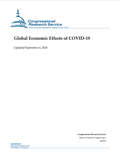 GLOBAL ECONOMIC EFFECTS OF COVID 19
