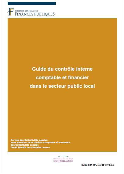 Cover of GUIDE DU CONTROE INTERNE COMPTABLE ET FINANCIER