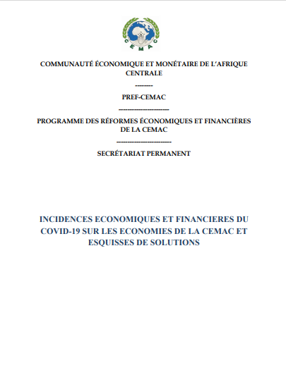 INCIDENCES ECONOMIQUES ET FINANCIERES DU COVID 19 ...