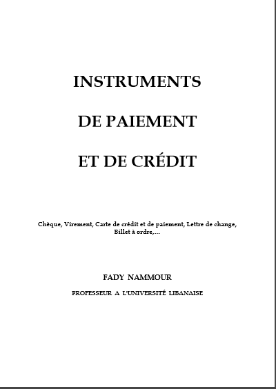 Cover of INSTRUMENT DES MARCHES