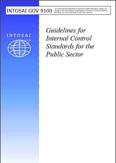 Cover of INTOSAI GOV  9100 GUIDELINES FOR INTERNAL CONTROL