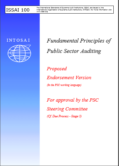 ISSAI 100 FUNDAMENTAL PRINCIPLES OF PUBLIC SECTOR ...