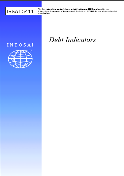 Cover of ISSAI 541 DEBT INDICATORS
