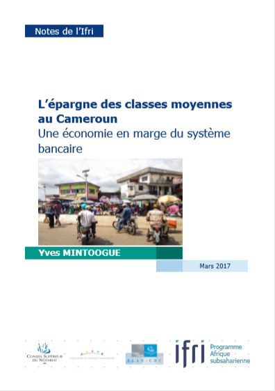 Cover of LEPARGNE DES CLASSES MOYENNES AU  CAMEROUN