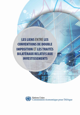 Cover of LES LIENS ENTRE LES CONVENTIONS ET LES DOUBLES IMPOSITIONS