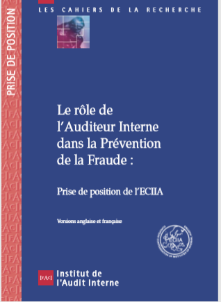 LE ROLE DE LAUDITEUR INTERNE DANS LA PREVENTION DE...