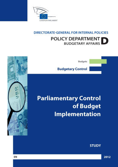 PARLIAMENTARY CONTROL OF BUDBGET IMPLEMENTATION