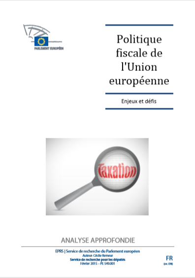 POLITIQUE FISCALE DE LUNION EUROPEENNE