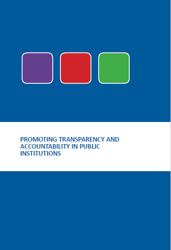 PROMOTING TRANSPARENCY  AND ACCOUNTABILITY IN PUBL...