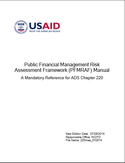 PUBLIC FINANCIAL  MANAGEMNT RISK