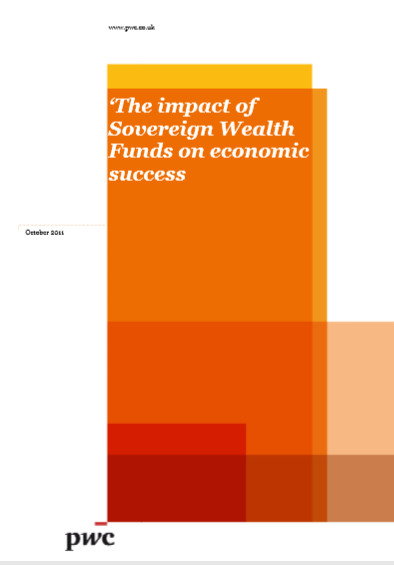 Cover of THE IMPACT OF SOVEREIGN WEALTH