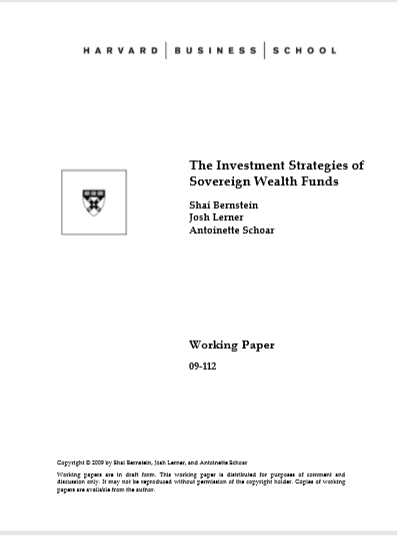 Cover of THE INVESTMENT STRATEGIES OF SOVEREIGN