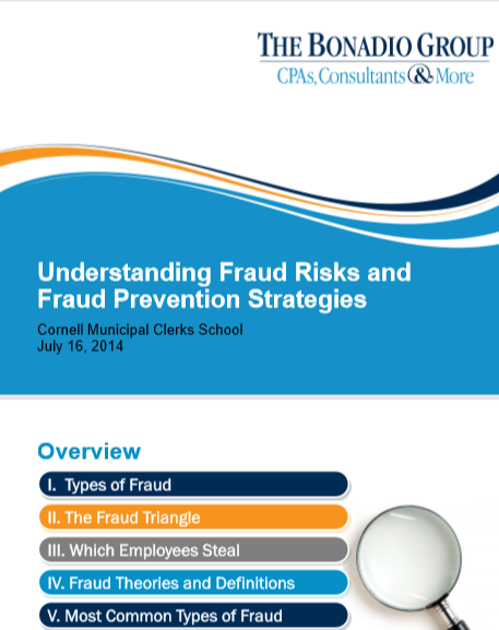 UNDERTSTANDING FRAUD RISKS AND FRAUD PREVENTION ST...